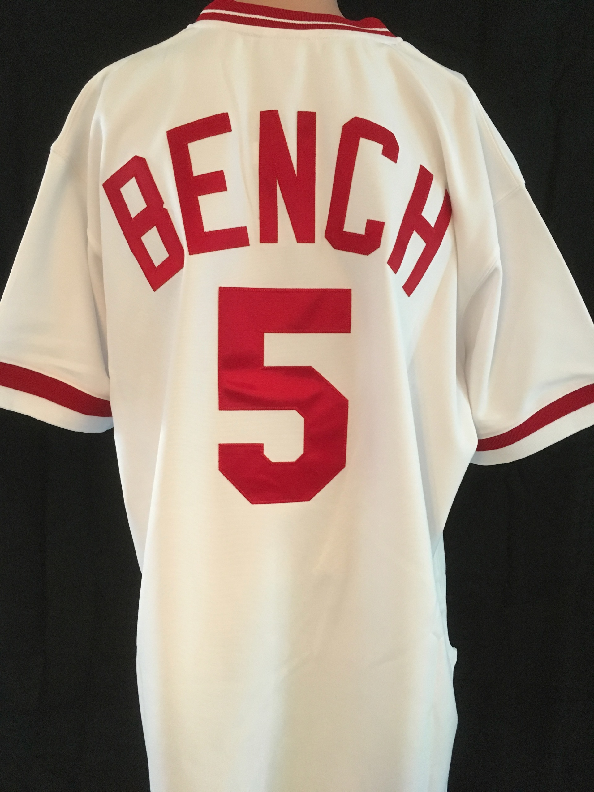 info for c6711 3101e Johnny Bench signed